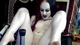 Goth girl fucked
