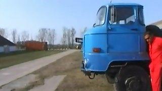 Trucker Fucks Hooker