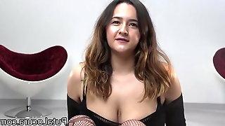Puta Locura Bukkake - Natalia Tetona Swallow Cum Loads