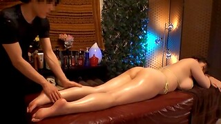Busty Japanese chick gets her big tits massaged by a horny impoverish